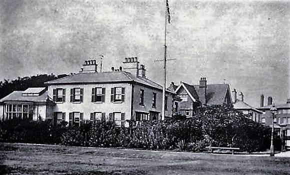 """White Lodge when it was """"South Crescent Villa"""""""